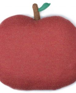 Chic Mercredi Coussin pomme rouge Oeuf NYC
