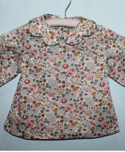 Chic Mercredi Blouse Liberty Betsy porcelaine