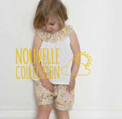 Nouvelle collection chic mercredi solene liberty soleil