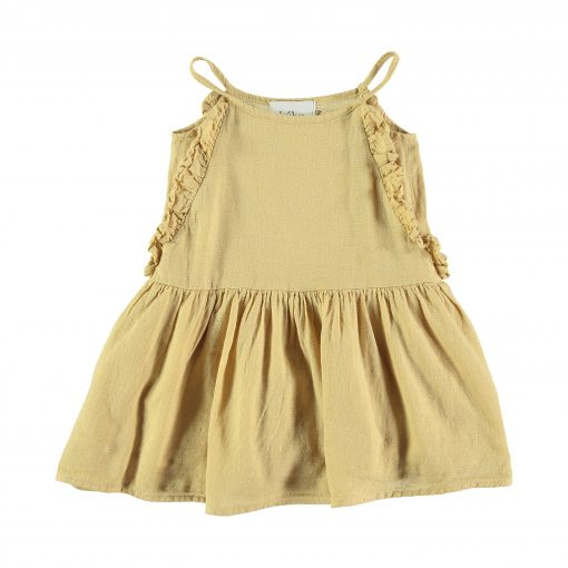 dress-buho-volant-moutarde-enfant