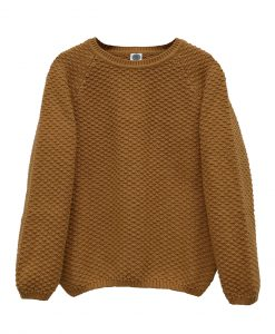 pull-laine-enfant-moutarde