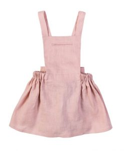 Robe-tablier-bebe-organic-rose