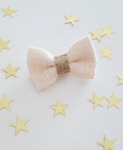 barrette-bébé-or-blanc