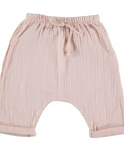 pantalon-gaze-de-coton-rose-bébé-my-little-cozmo